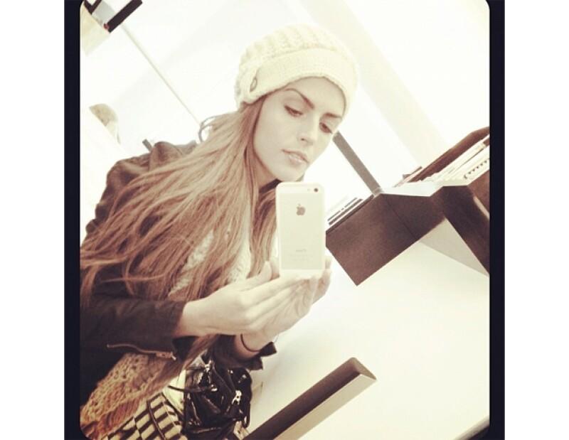 Claudia Álvarez se prepara para el frío