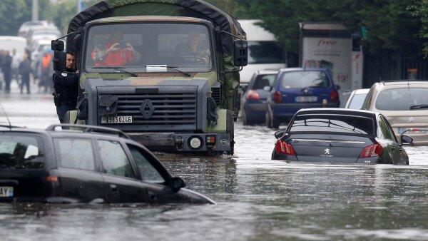 París sufrió de inundaciones en los últimos días, lo que dañará sus ingresos por turismo.