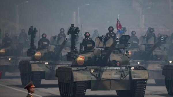 Armamento militar.