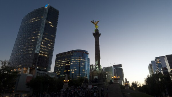 Independence Angel monument in Mexico City