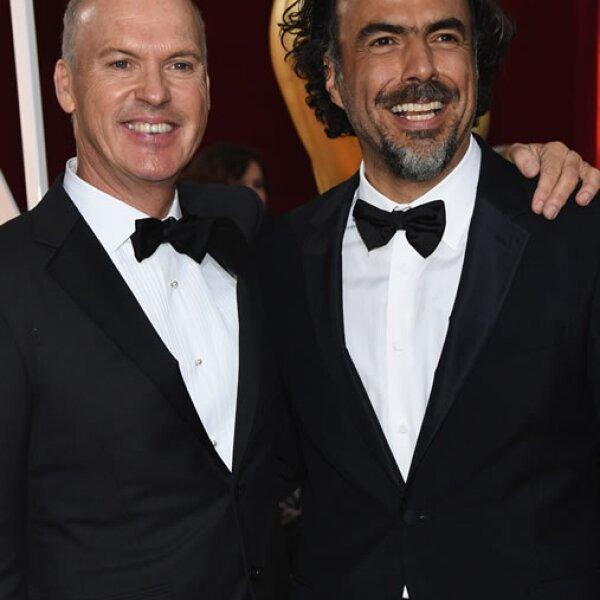 Michael Keaton, Alejandro Gonzalez Iñárritu.