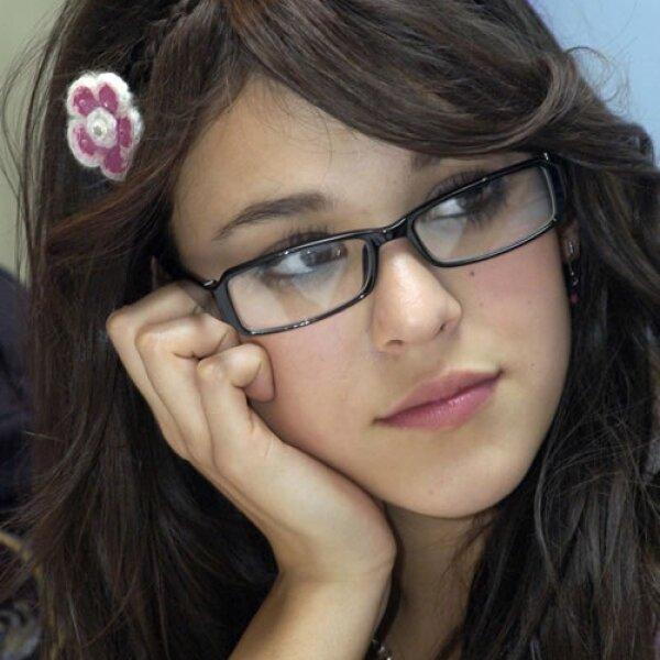 Un año más tarde, Danna participa en su primera telenovela llamada `Rayito de Luz´.