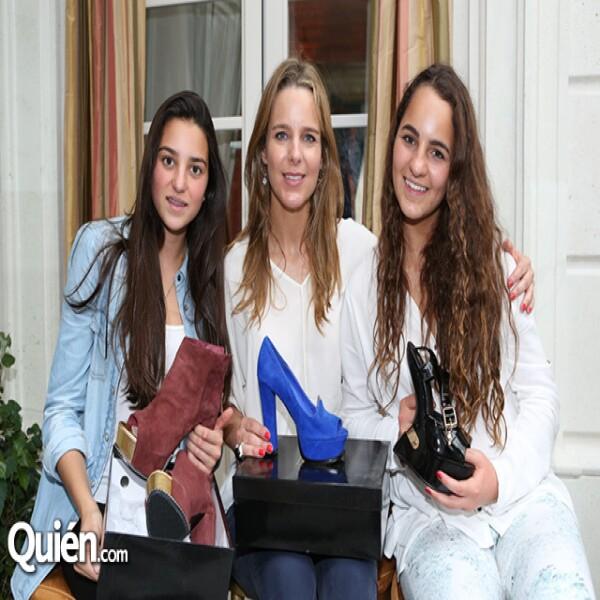 Ana Chávez,Araceli Rosales,Andrea Rosales