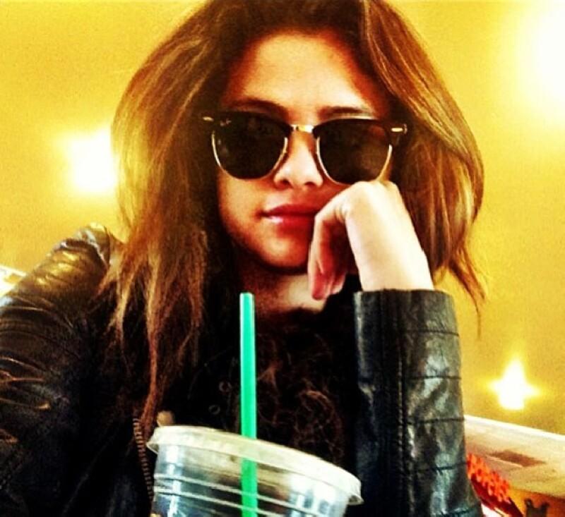 Selena expresó su felicidad por estar en la ciudad en la que mañana dará un concierto.