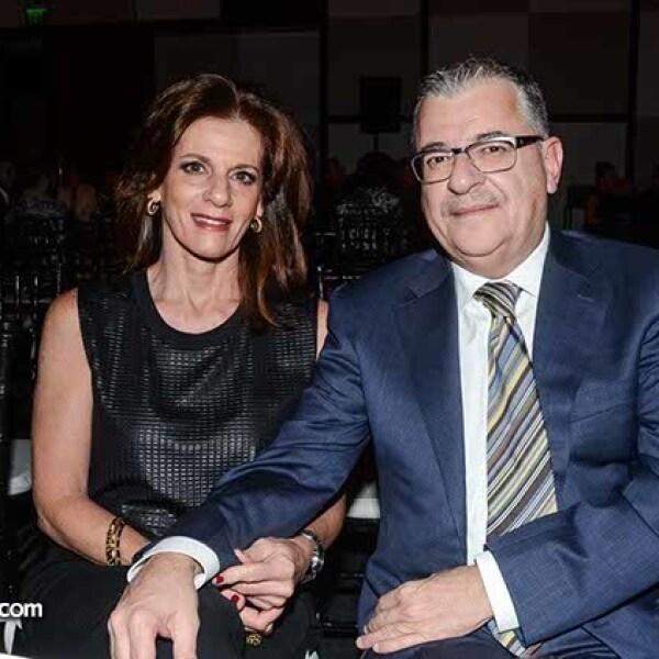 Giovanna y Juan Carlos Romero.