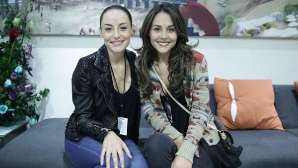 Marimar Vega y Zuria Vega.