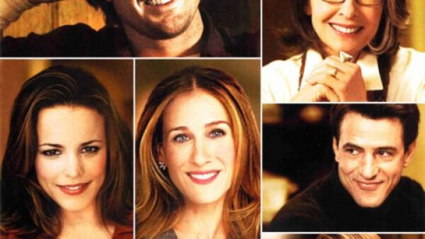 The Family Stone: Cuenta con un cast que va desde Sarah Jessica Parker, Claire Danes y Rachel McAdams, hasta Diane Keaton y Luke Wilson. La película trata de la introducción de SJP a la familia de su novio y la aventura que implica. (2005)