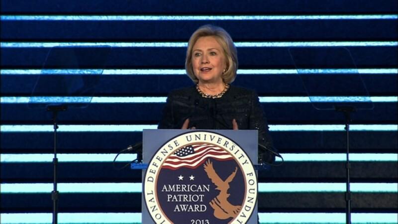 Hillary Clinton defendió los precios que cobra por hablar en conferencias alrededor de Estados Unidos
