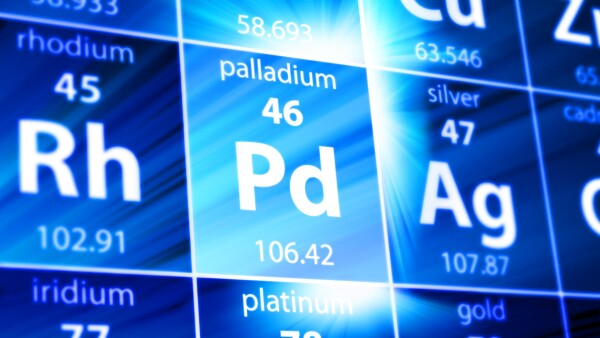 Palladium Pd Periodic Table