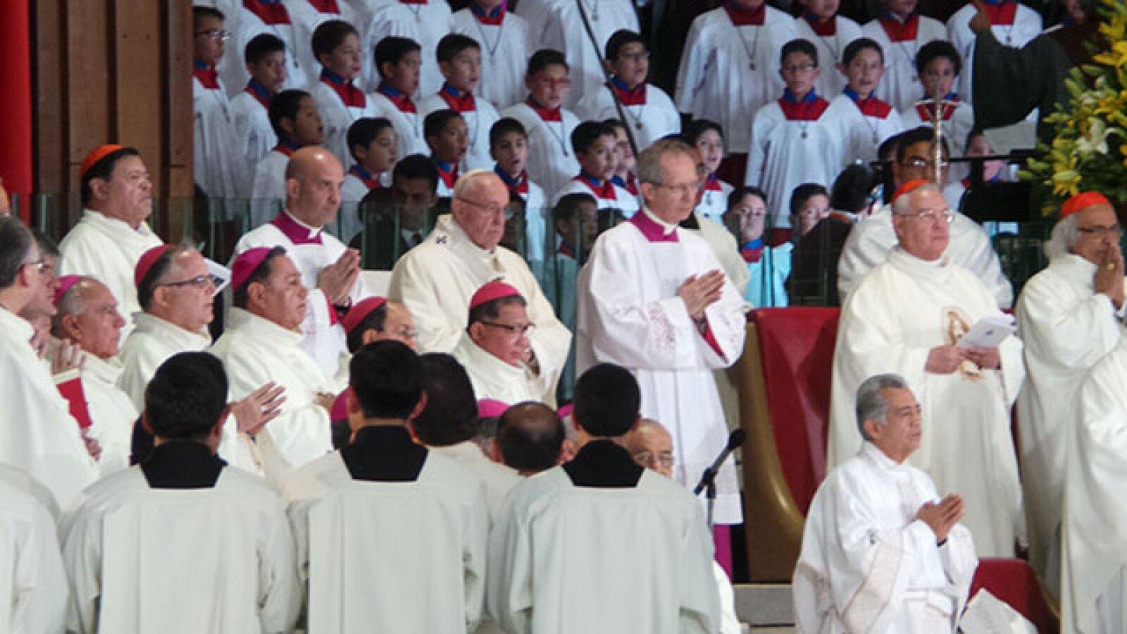 El Papa cumplió uno de sus sueños al estar frente a la virgen de Guadalupe, así lo hizo saber.