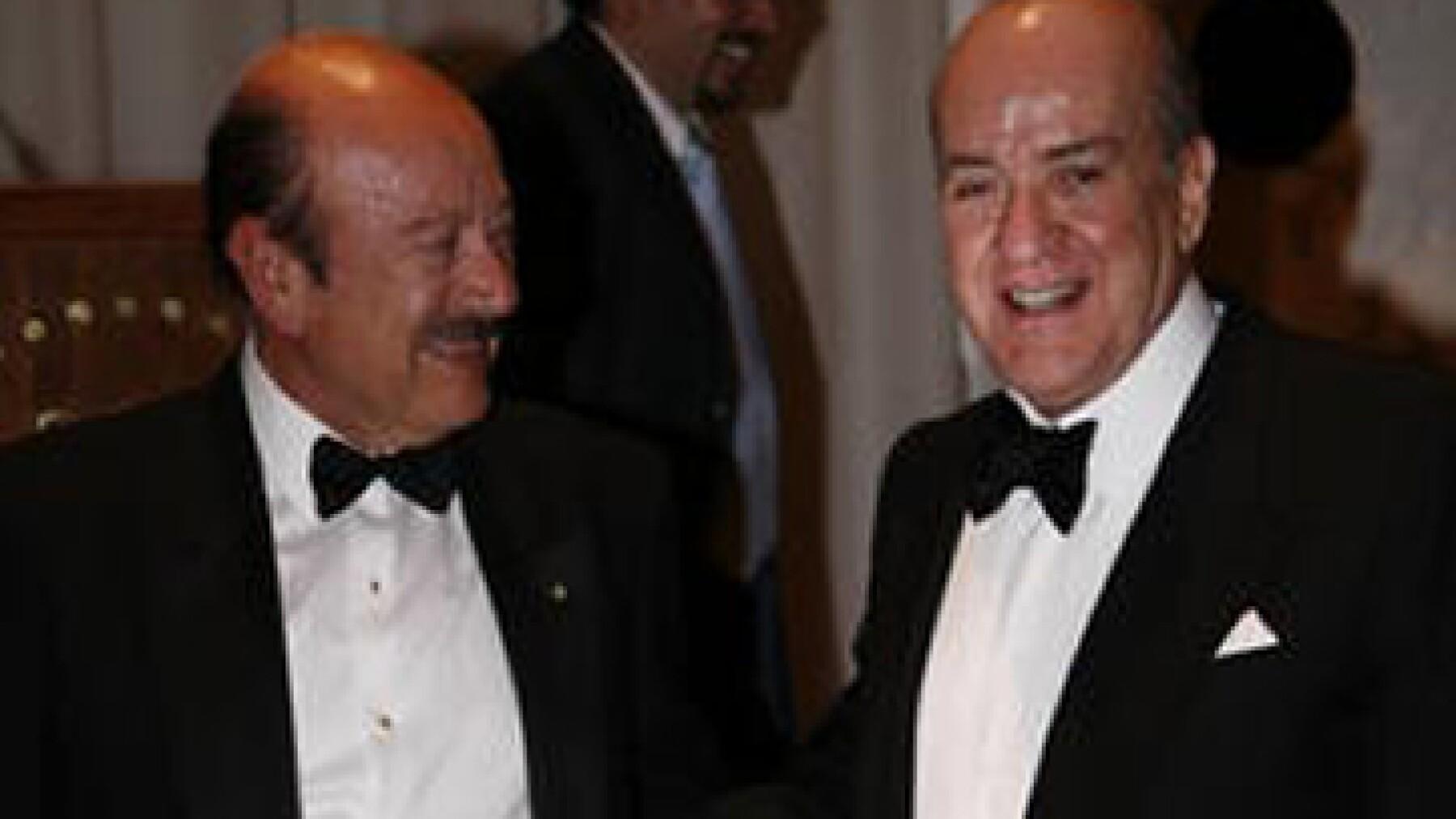 Antonio Madero (der.), propietario de SANLUIS Rassini, firma 196 del ranking Las 500 empresas más importantes de México' de la revista Expansión. (Foto: Marco Vallejo/Revista Quién)
