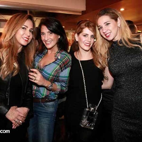 Jessica Garduño,Mónica Martínez,Rocío de la Fuente y Chantal Do Rego