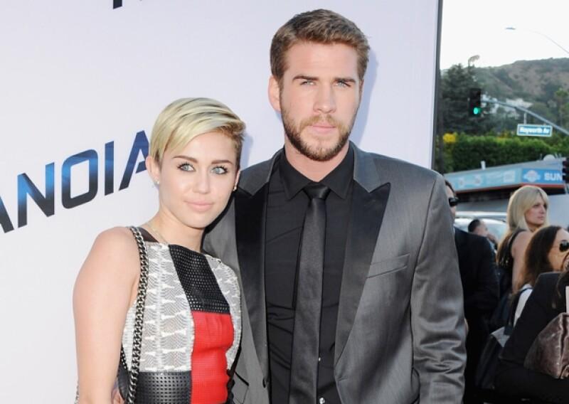 Aunque Miley Cyrus y Liam Hemsworth.