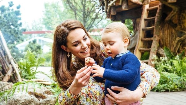 Kate Middleton y el príncipe Louis