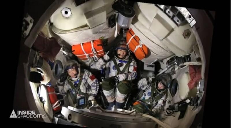 Tres de los principales astronautas chinos que están listos para embarcarse en la tarea de ir a una estación espacial de la nación asiática