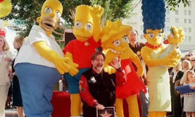 La historia de Homero Simpson y su familia ha sido un símbolo de la cultura popular desde la década de 1990. (Foto: AP)