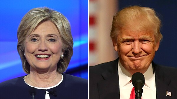Hillary Clinton y Donald Trump necesitan ganar en Nueva York con suficiente  ventaja para afianzar su c9d66fba832f