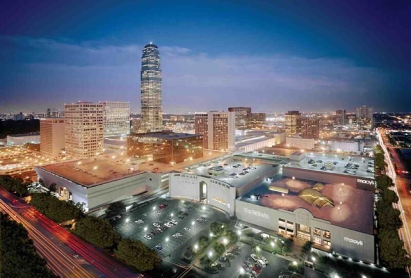 El centro comercial The Galleria es una de las grandes atracciones de Houston.