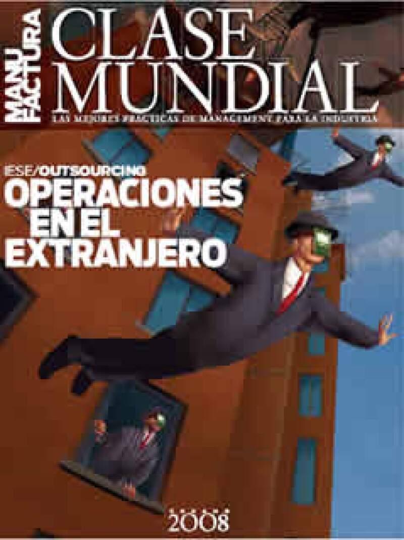 Esta es la portada de la edición de verano 2008 de Clase Mundial. (Foto: Archivo Manufactura)