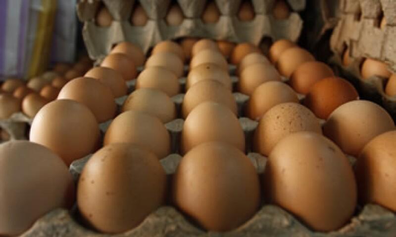 El titular de Agricultura dijo la semana pasada que el incremento en el precio del huevo obedece a factores estacionales. (Foto: Cuartoscuro )