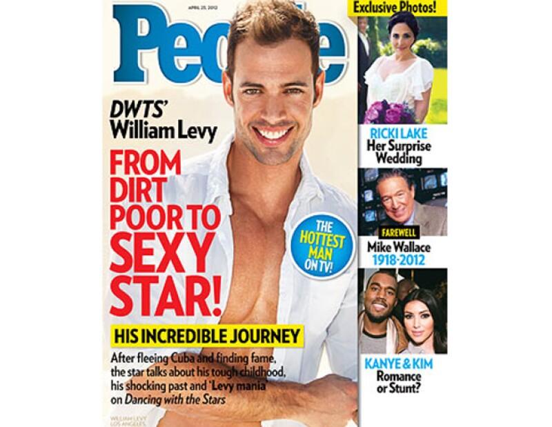 El galán de telenovela ha causado tanta sensación en Estados Unidos desde su participación en `Dancing with the Stars´, que el cubano ya llegó a la portada de la exitosa revista People.