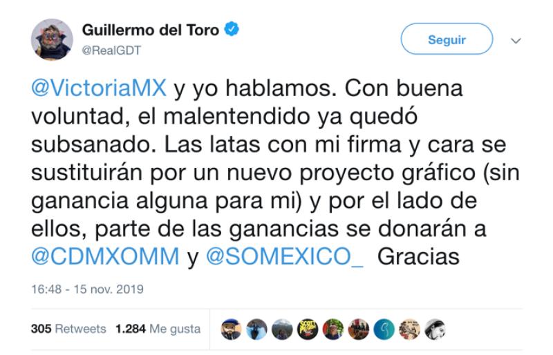 Twitter de Guillermo del Toro