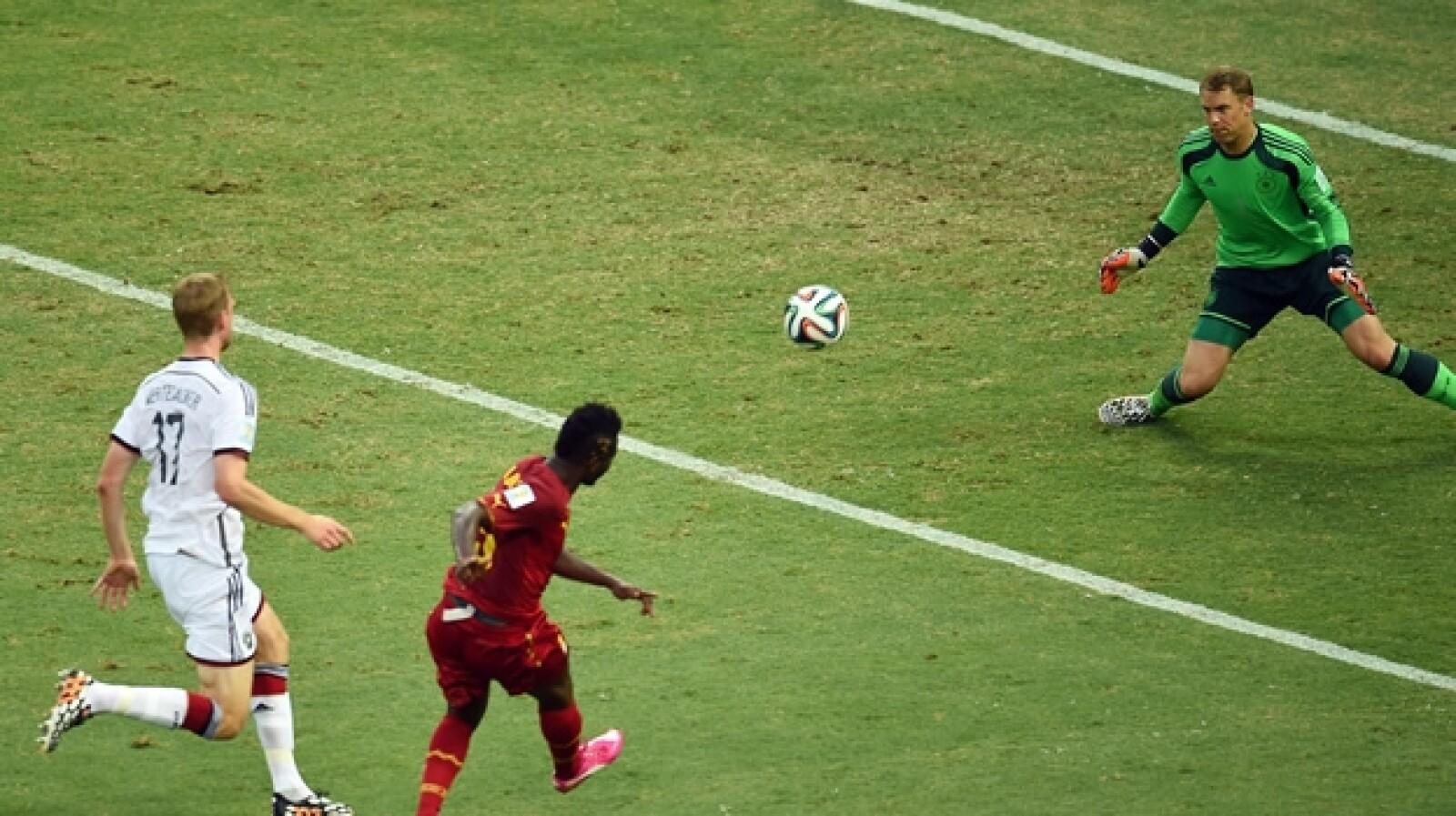 Asamoah Gyan Ghana vs Alemania