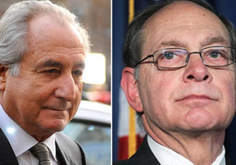 Bernard Madoff (izquierda) y el fideicomisario Irving Picard, encargado del caso. (Foto: CNNMoney)
