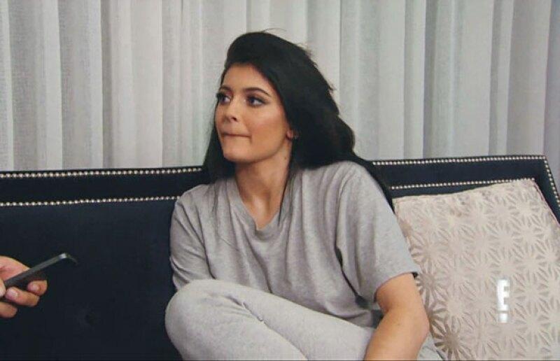 Los labios de Kylie son su mayor atributo.