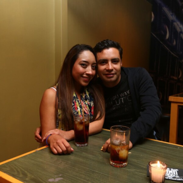 Brenda Cruz y Jorge Blanco