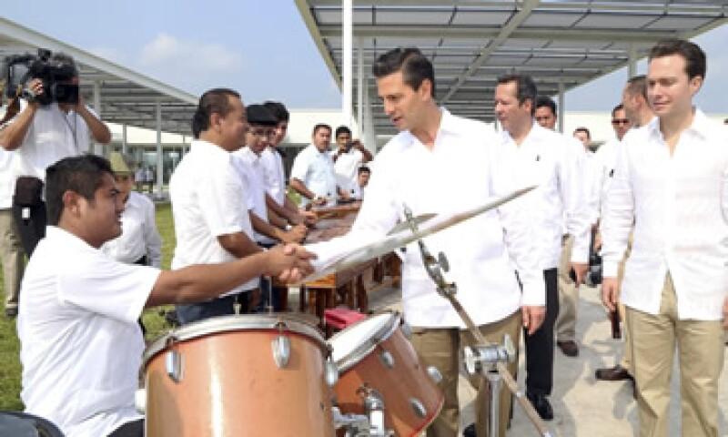 El turismo es una oportunidad de generar empleo, señaló Peña. (Foto: Cuartoscuro)