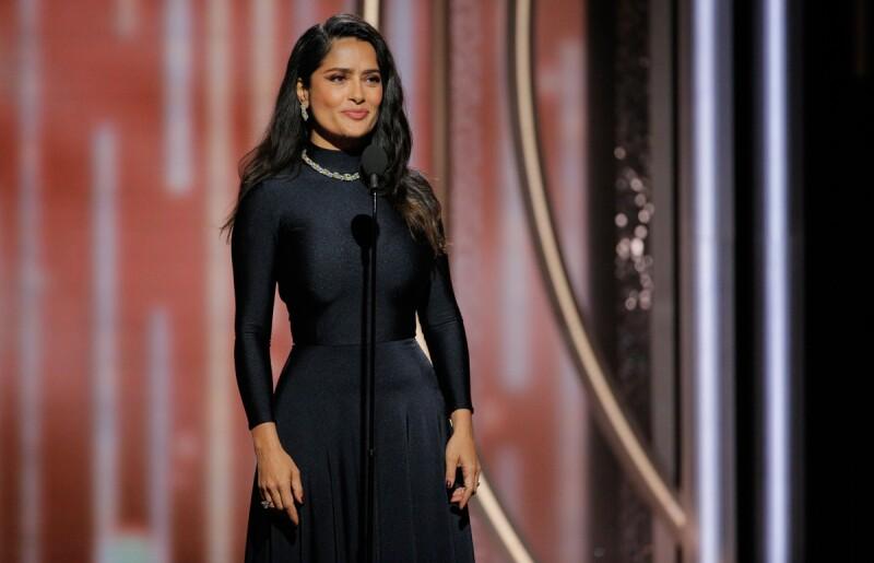 Salma-Hayek-Golden-Globes