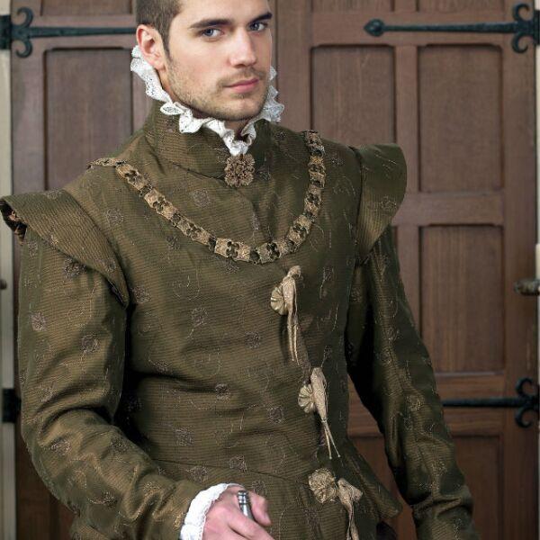 Henry Cavill saltó a la fama gracias a su participación en la serie de época The Tudors, en 2008.