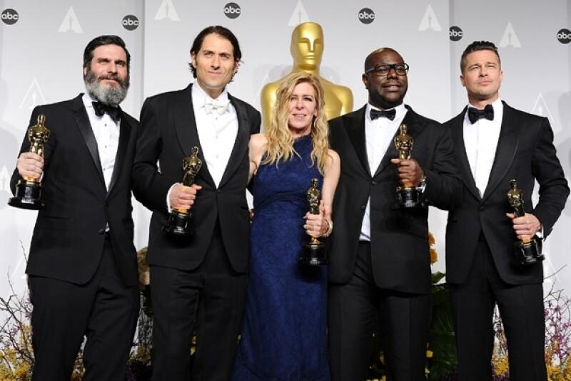 El actor no pensó ganar dicho premio por lo que no sabe dónde colocará el Oscar.