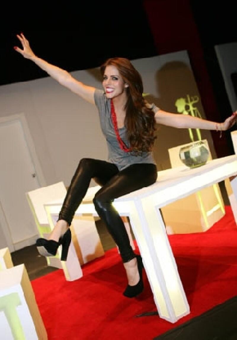 La actriz participa en la nueva serie de Pedro Torres.