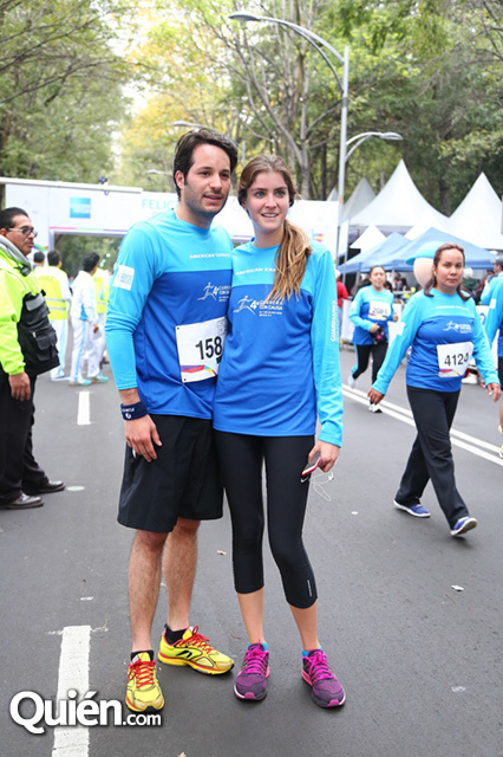 Patricio Navarro y Alejandra Garrido