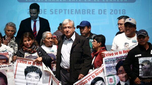 AMLO Ayotzinapa