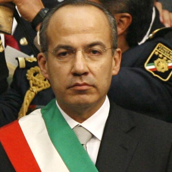 El panista ganó la elección de 2006 por el 0.56% de los votos y actualmente está en los últimos meses de su Gobierno.
