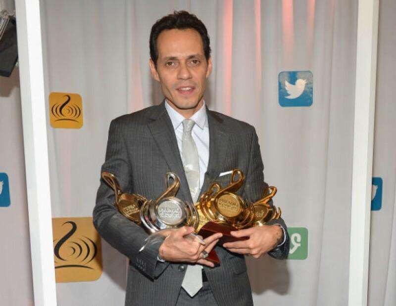 Marc arrasó en la reciente entrega de Premios Lo Nuestro.