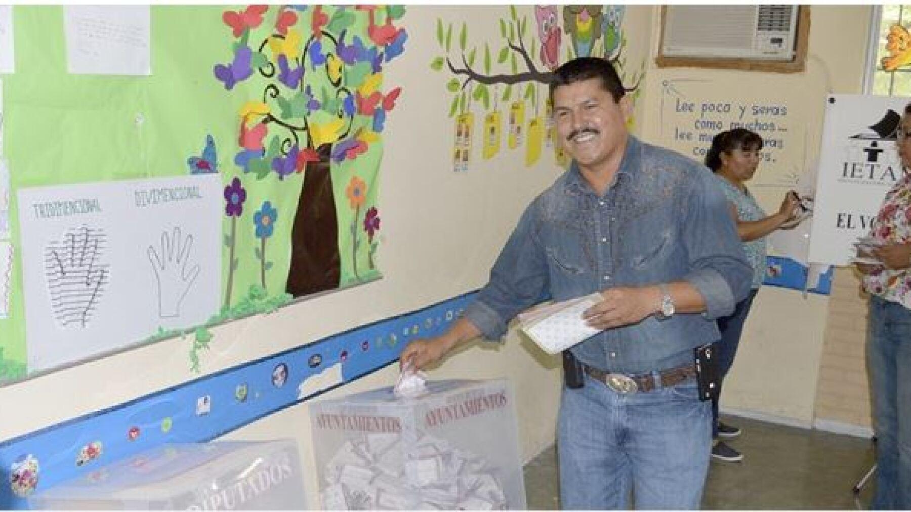 En este municipio de Tamaulipas logró ganar 'El Gallo' Gallardo.