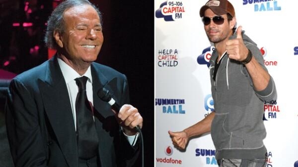Julio Iglesias siempre ha sido y seguirá siendo un sex icon de la música en español, Enrique es de los elementos más hot del pop actual. Tiene que agradecérselo a su padre.
