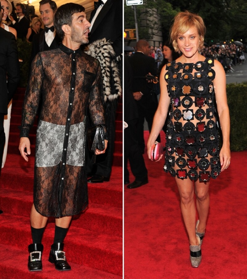 Marc Jacobs y Chloe Sevigny.