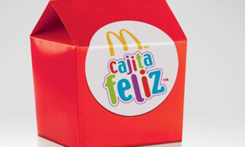 La 'Cajita Feliz' es un producto insignia de McDonald's. (Foto: Tomada de Facebook.com/McDonaldsMexico)