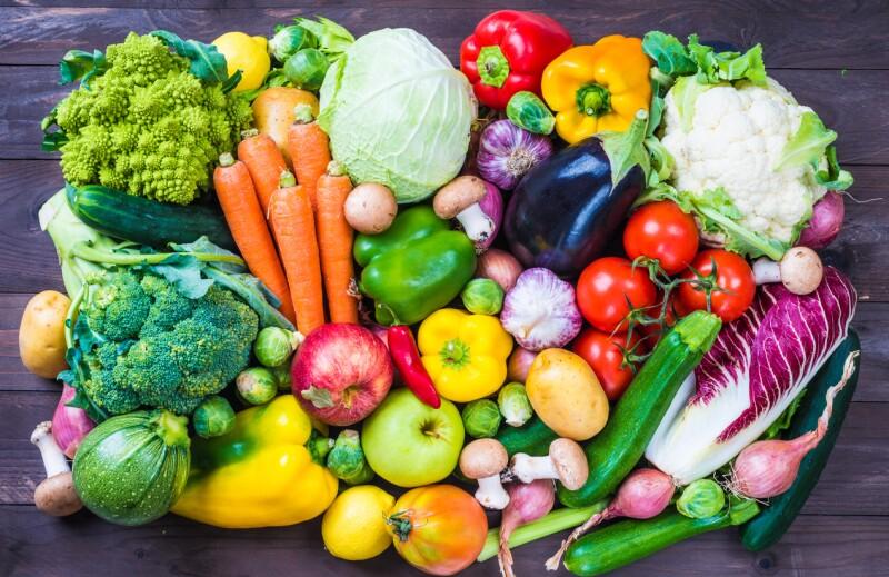 Suben las frutas y verduras