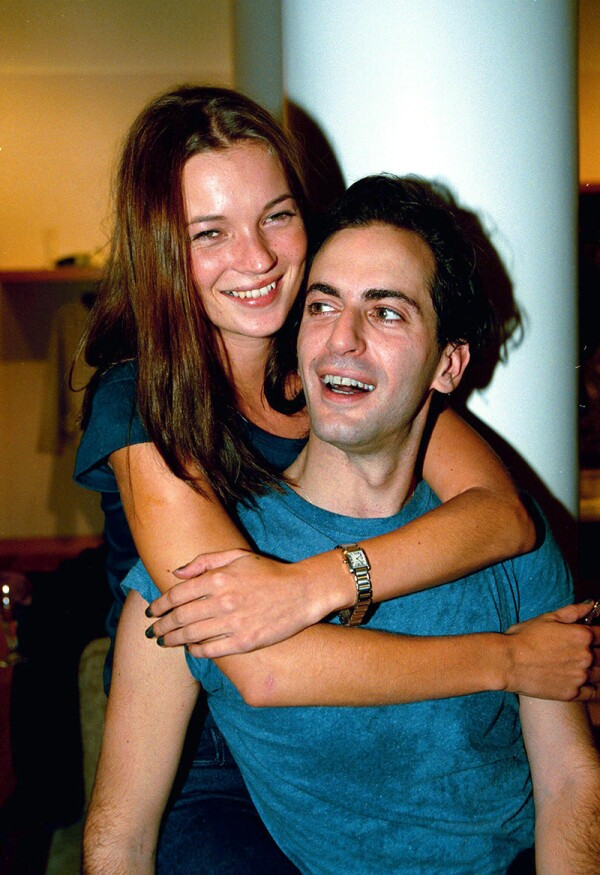 KATE MOSS AND MARC JACOBS, NEW YORK, AMERICA - 1998