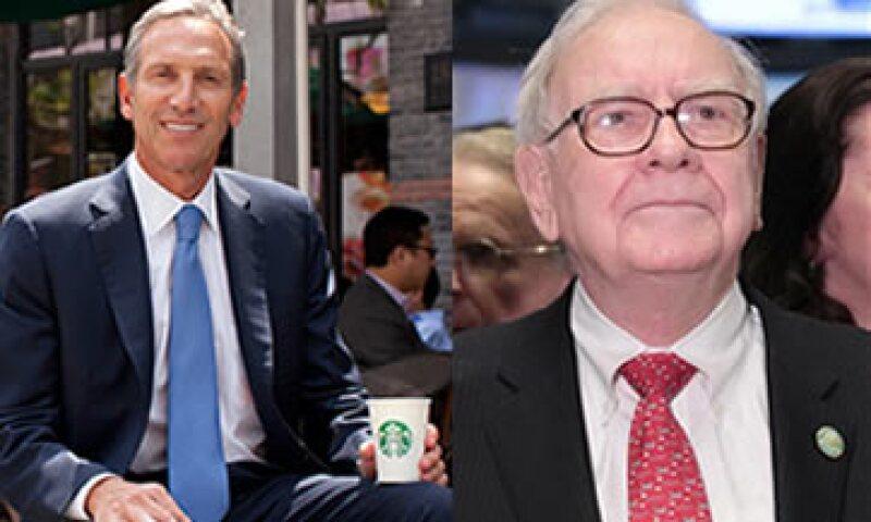 Fortune escogió a Howard Schultz como su personaje de negocios 2011, mientras el público encumbró a Warren Buffett.  (Foto: Especial)