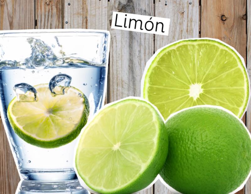 Limón para reducir manchas.
