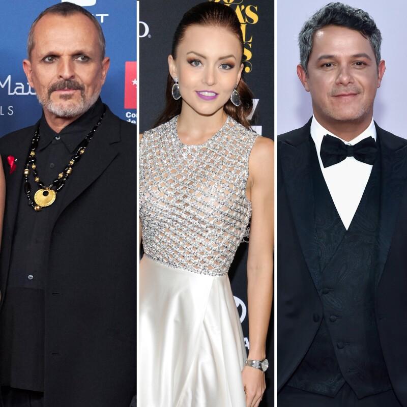 Miguel Bosé, Angelique Boyer, Alejandro Sanz