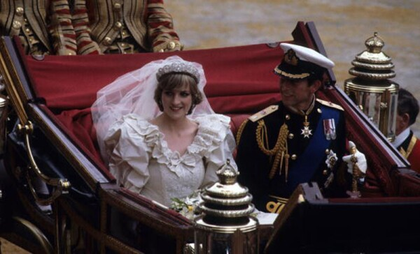 Prince Charles Marries Lady Diana Spencer