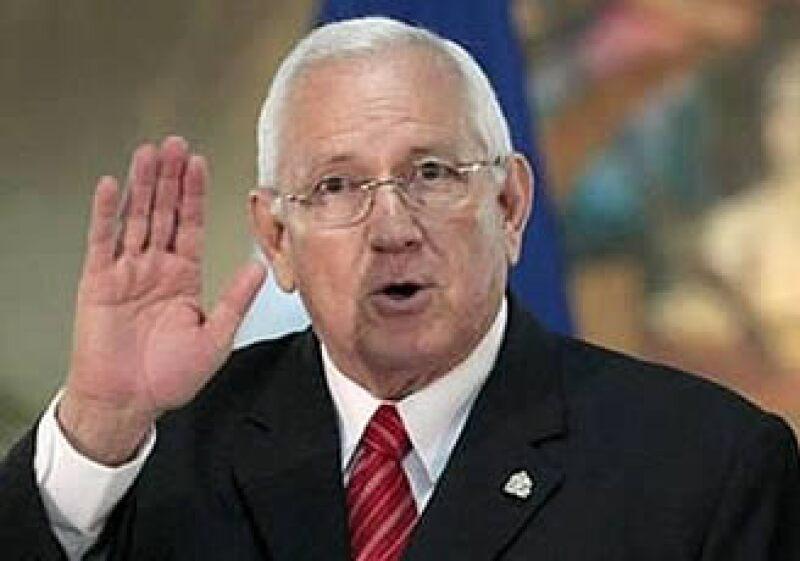 El presidente interino de Honduras, Roberto Micheletti, aseguró que no va a negociar con Zelaya durante su reunión. (Foto: Reuters)